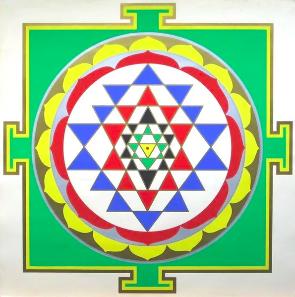 The Sri Yantra: Why We Grow Cannabis in the Form of Sacred